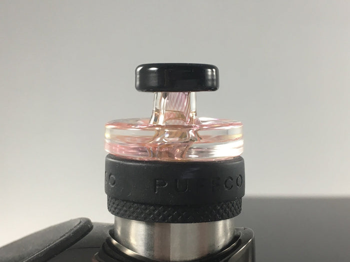 Directional fumeicello cap for Puffco Peak