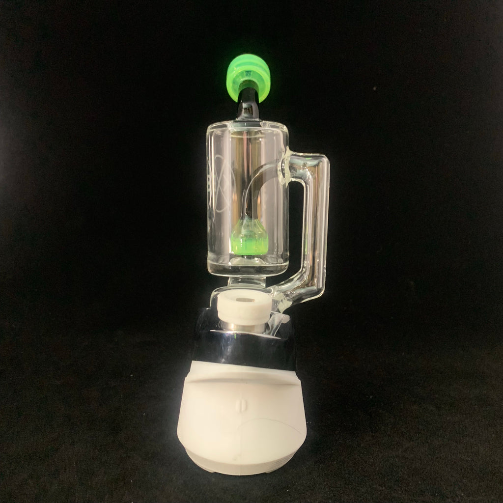 Slyme green Puffco Peak attachment