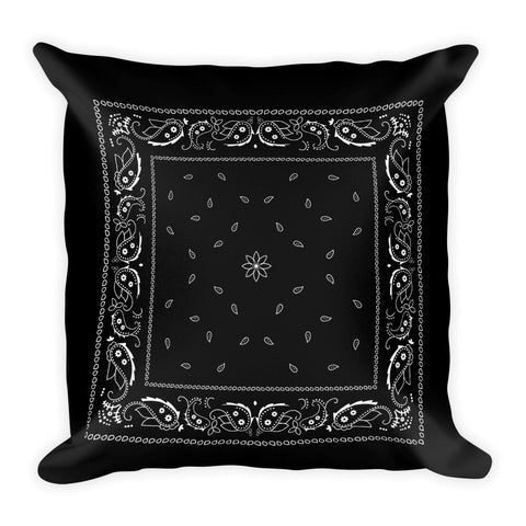 Hanky Pillow, Black