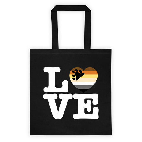 Bear LOVE Tote Bag