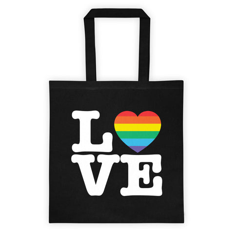 Gay LOVE Tote Bag