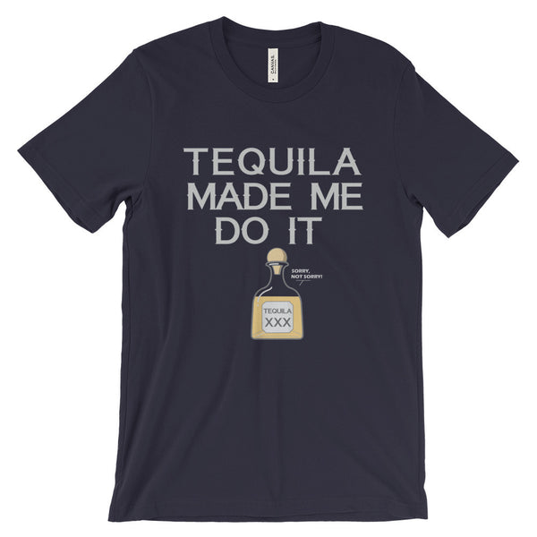 Tequila Made Me Do It T-Shirt