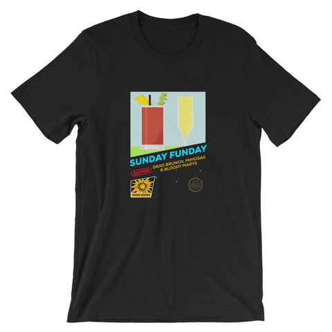 Sunday Funday Retro Gaming T-Shirt