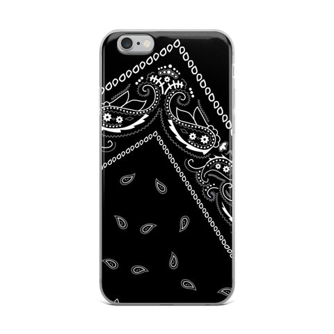 Hanky Code Black iPhone Case