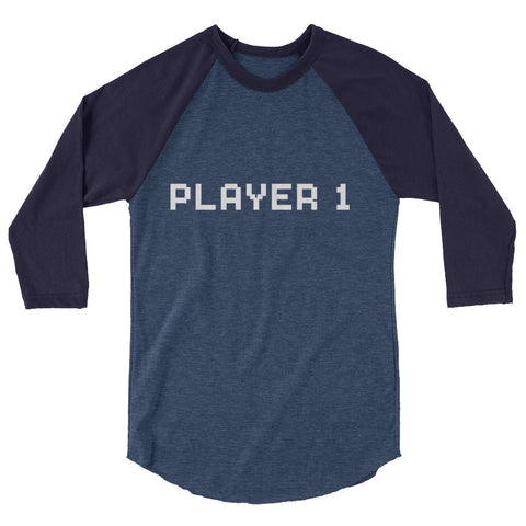 Player 1 Raglan Shirt