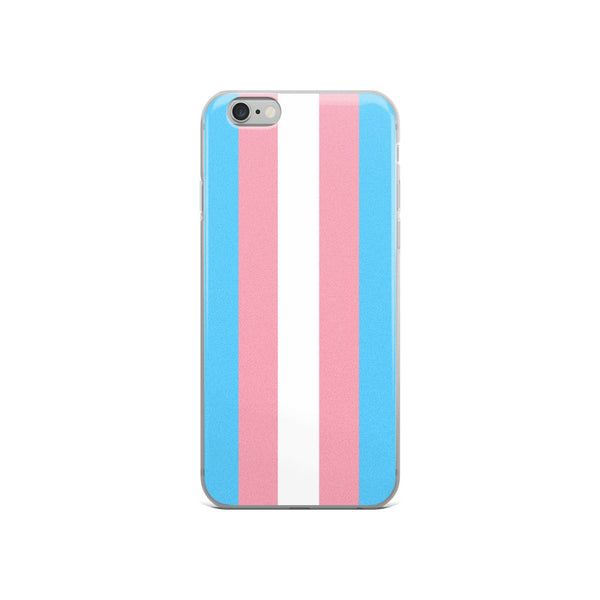 Trans Flag iPhone Case