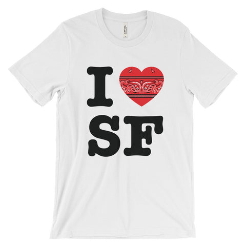 I Hanky Heart SF, Red