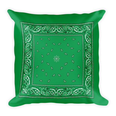Hanky Pillow, Green