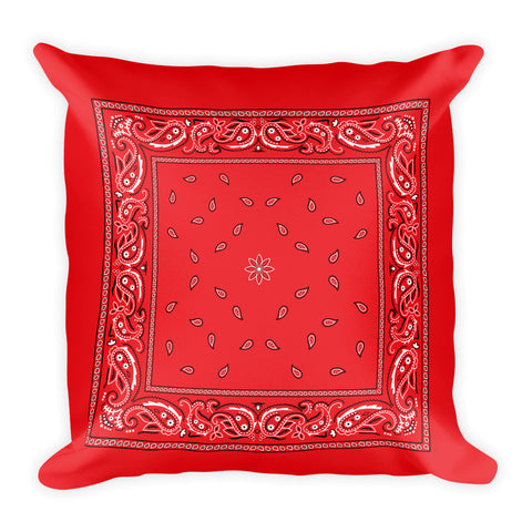 Hanky Pillow, Red