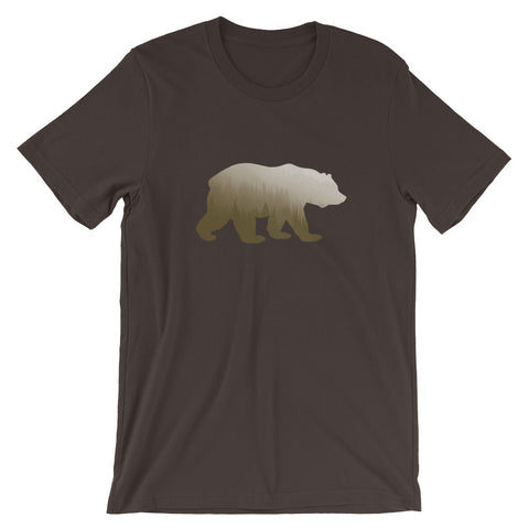 In the Wild T-Shirt, Brown