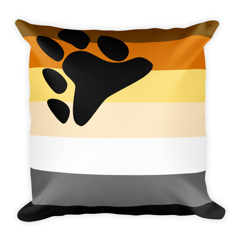 Bear Flag Square Pillow