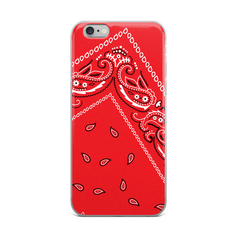 Hanky Code Red iPhone Case