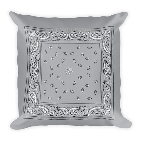 Hanky Pillow, Grey