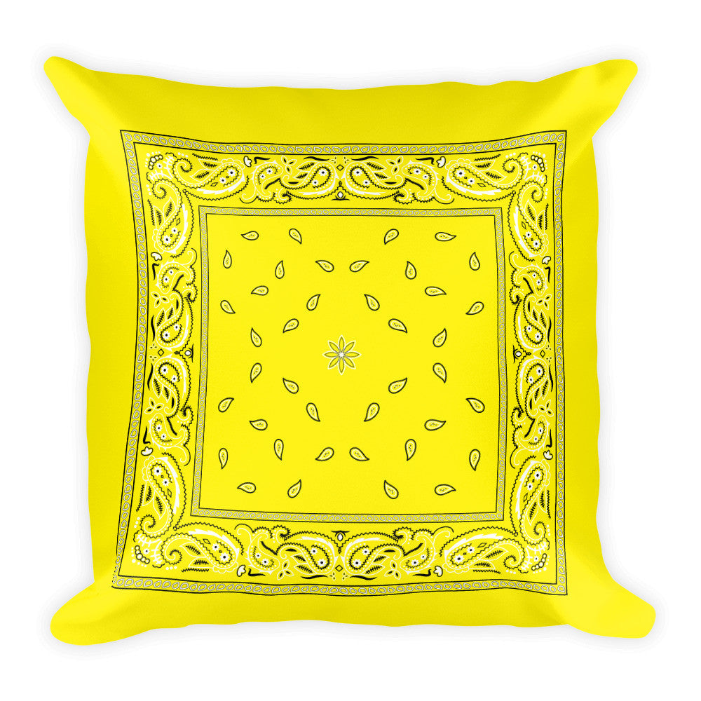 Hanky Pillow, Yellow