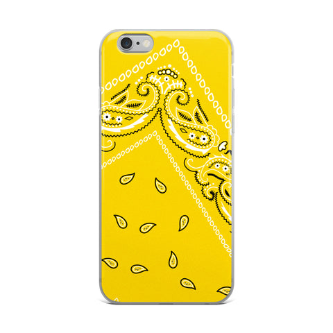Hanky Code Yellow iPhone Case