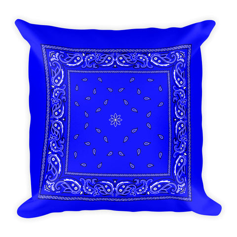 Hanky Pillow, Blue