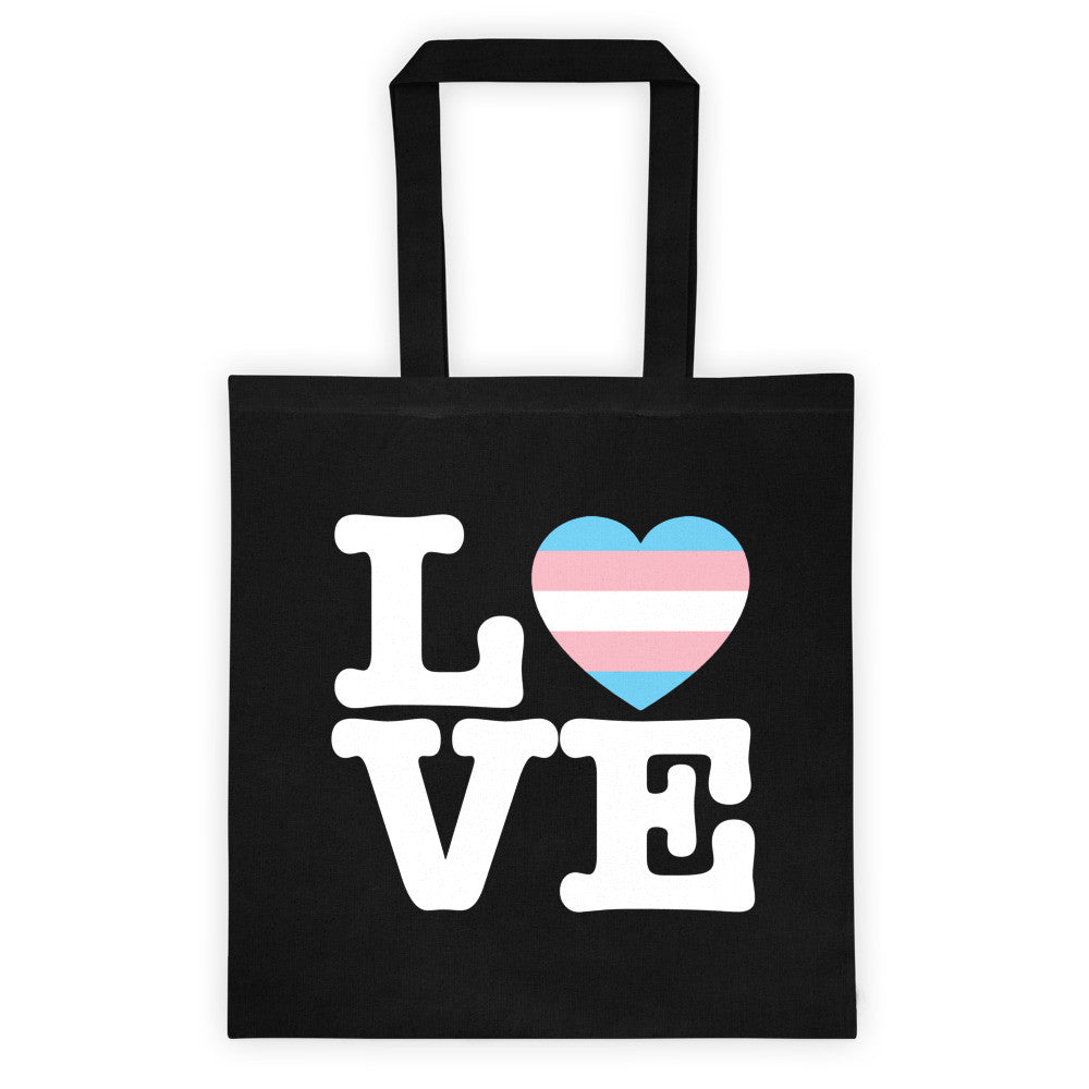 Trans LOVE Tote Bag