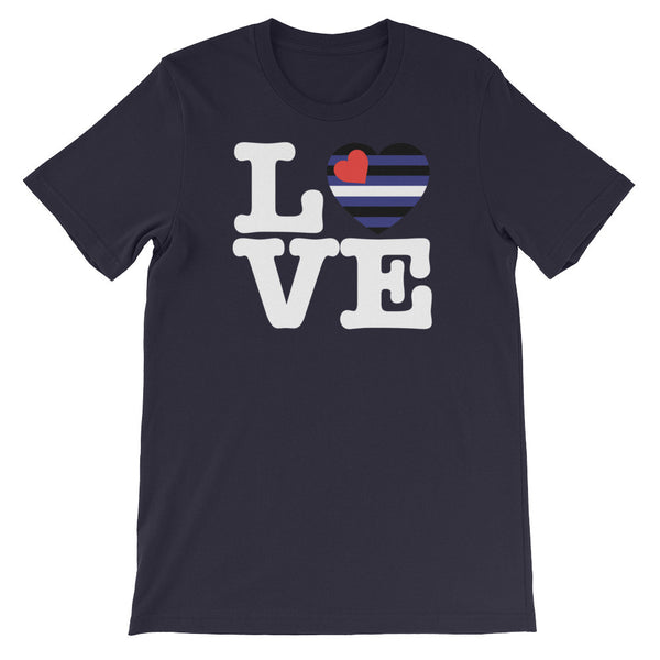 Leather LOVE T-Shirt