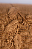 Heirloom Embroidered Blanket - Clay