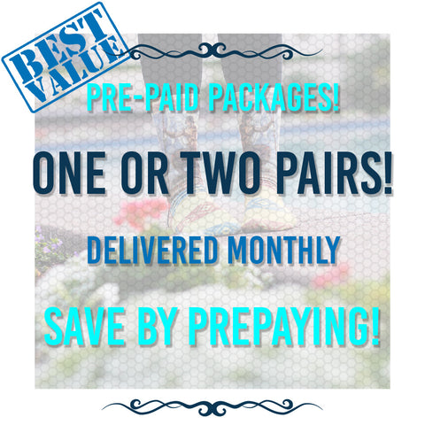 Pre-Paid Packages!