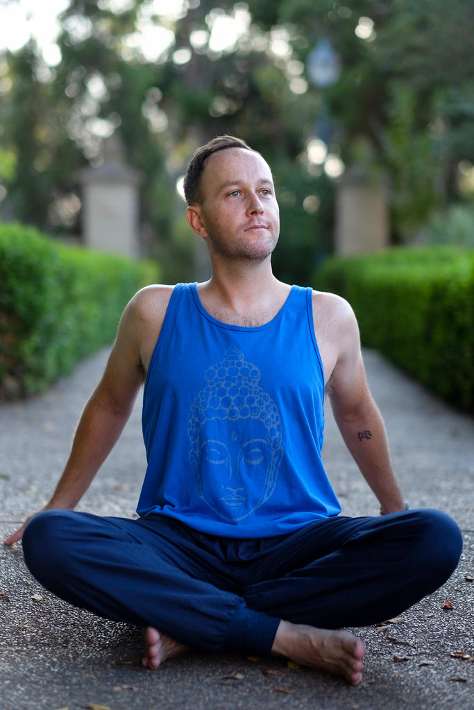 Mens Buddha Tank - Inspired by Stephanie Rose
