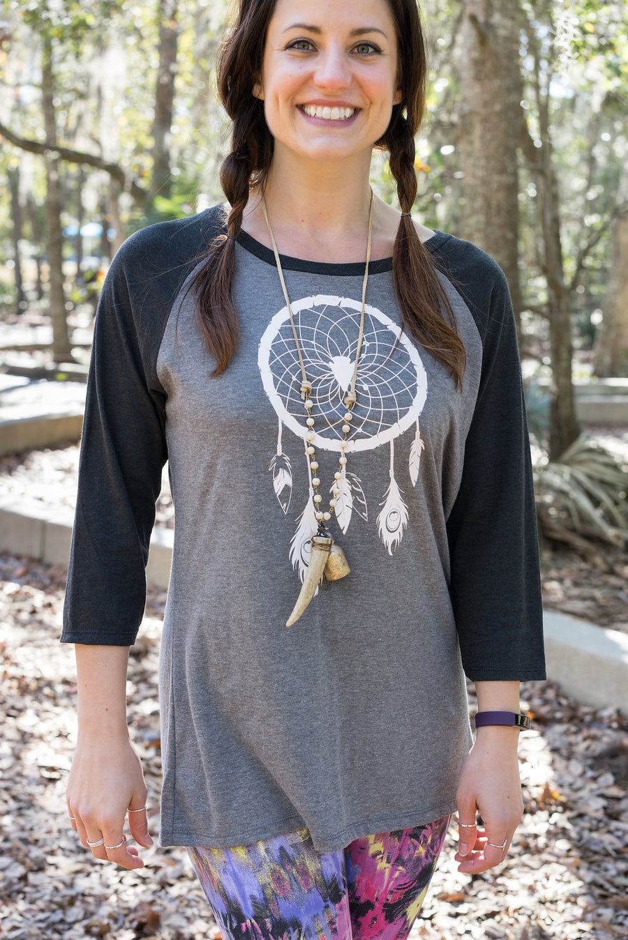 Dreamcatcher Women's Baseball Tee - Inspired by Stephanie Rose