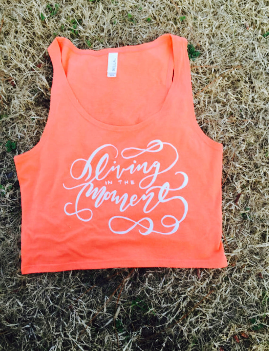 Living in the Moment Yoga Crop Top - Inspired by Stephanie Rose