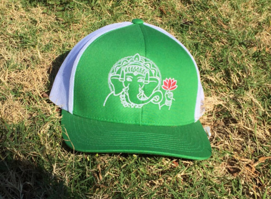 Green Elephant Yoga Hat - Inspired by Stephanie Rose