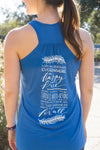 Lokah Samastah Sukhino Bhanvatu Yoga Inspired Tank Top - Inspired by Stephanie Rose