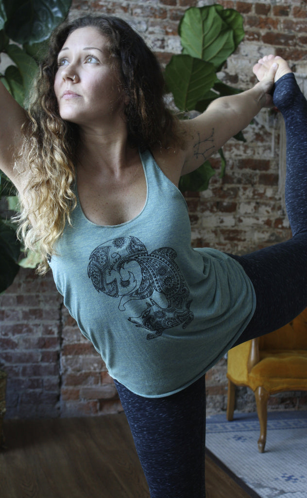 Fox Spirit Animal Women's Spiritual Tank - Inspired by Stephanie Rose