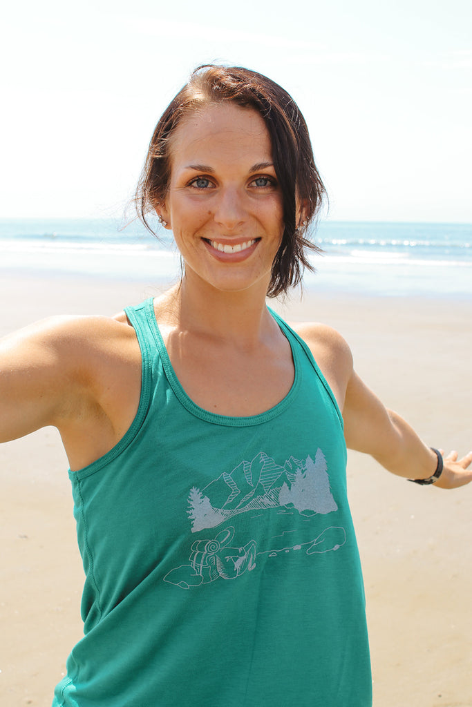 Women's Hiking Tank Top - Inspired by Stephanie Rose