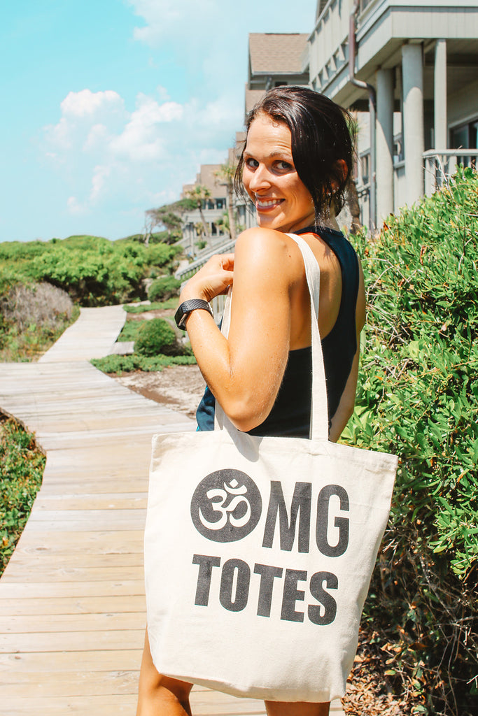 Yoga Tote Bag - Inspired by Stephanie Rose