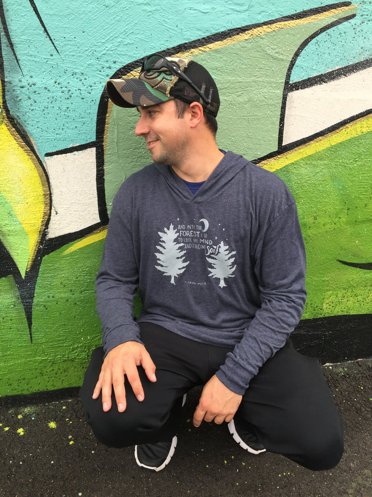 Men's Hiking Long Sleeve Tee - Inspired by Stephanie Rose