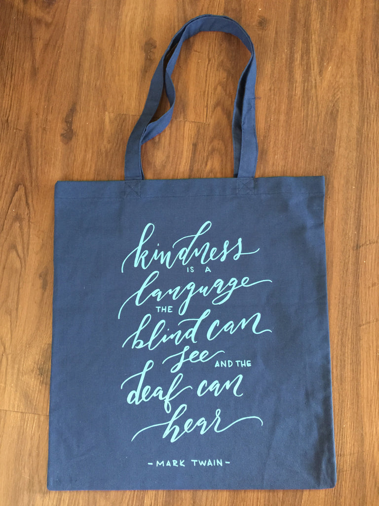 Kindness Tote Bags - Inspired by Stephanie Rose