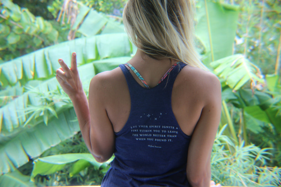 Inspirational Quote Tank | Walk With the Dreamers - Inspired by Stephanie Rose