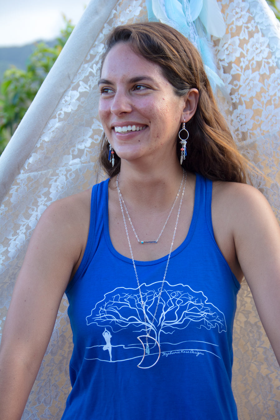 Tree Pose Yoga Top - Inspired by Stephanie Rose