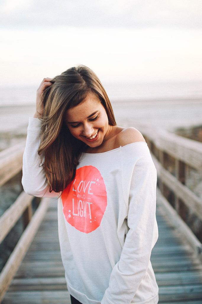 Love and Light Glow Sweat Shirt - Inspired by Stephanie Rose