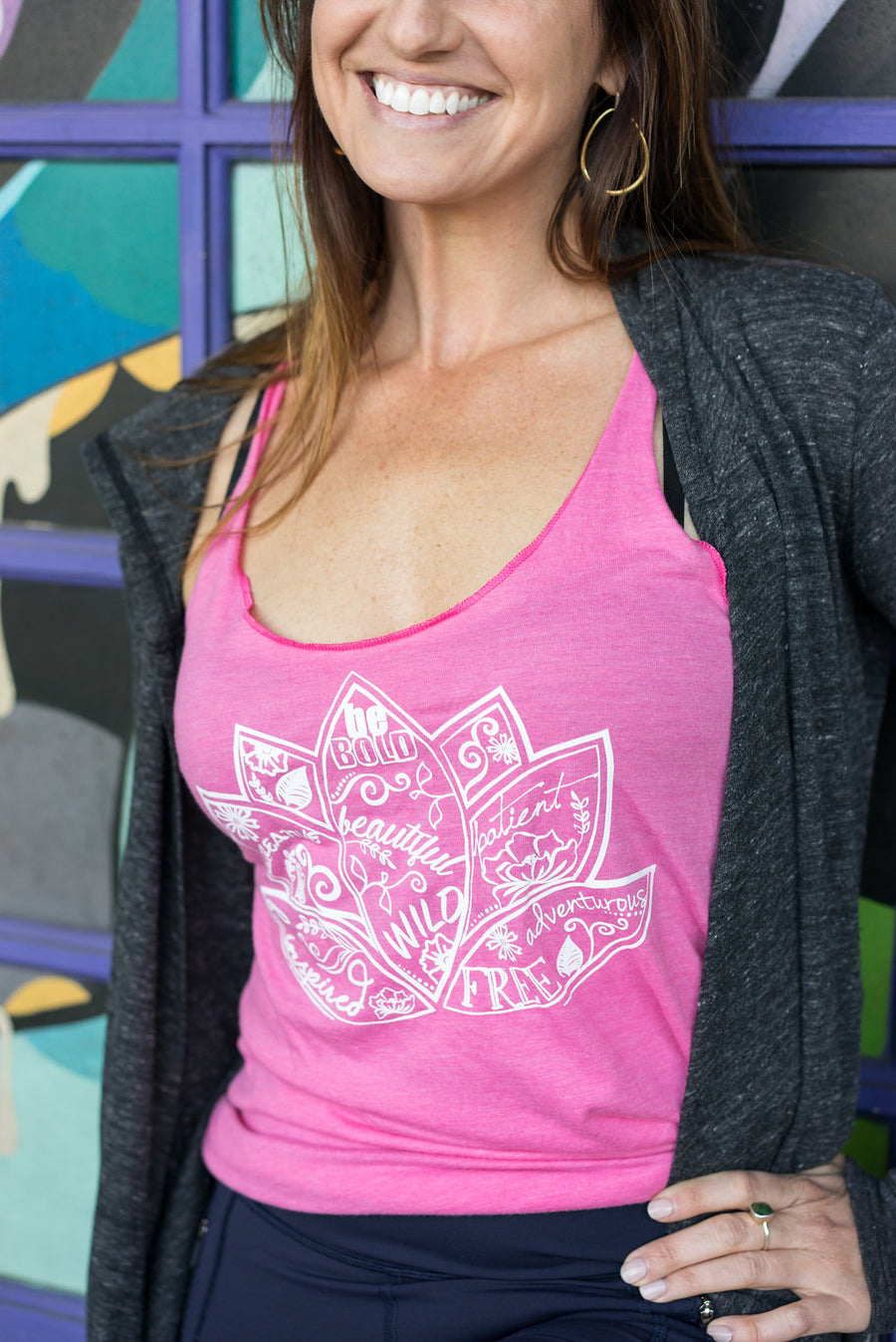 Inspirational Lotus Flower Tank - Inspired by Stephanie Rose