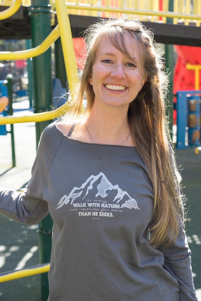 Spiritual Hiking Sweater | John Muir Shirt - Inspired by Stephanie Rose