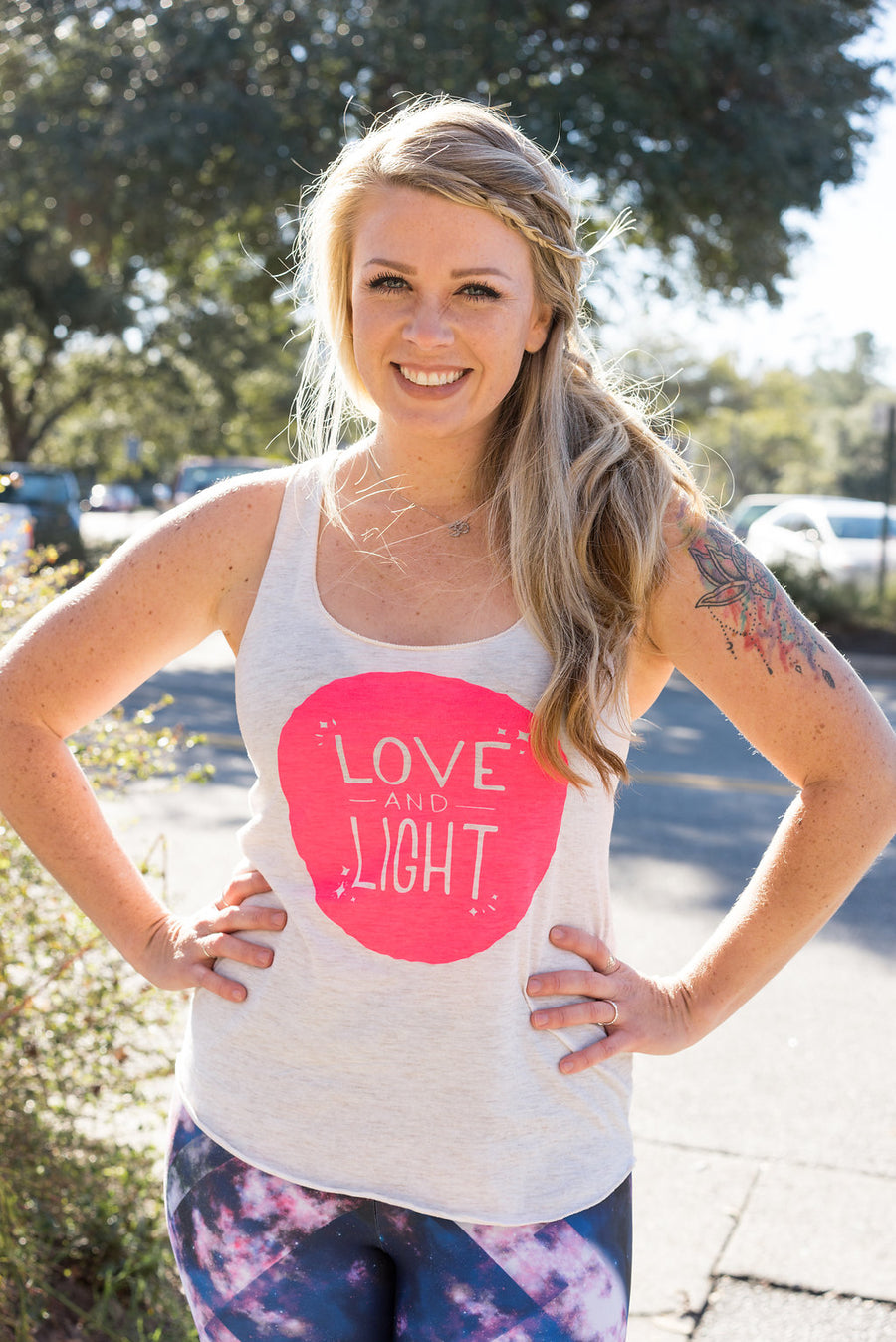 Love and Light Glow in the Dark Tank Top - Inspired by Stephanie Rose