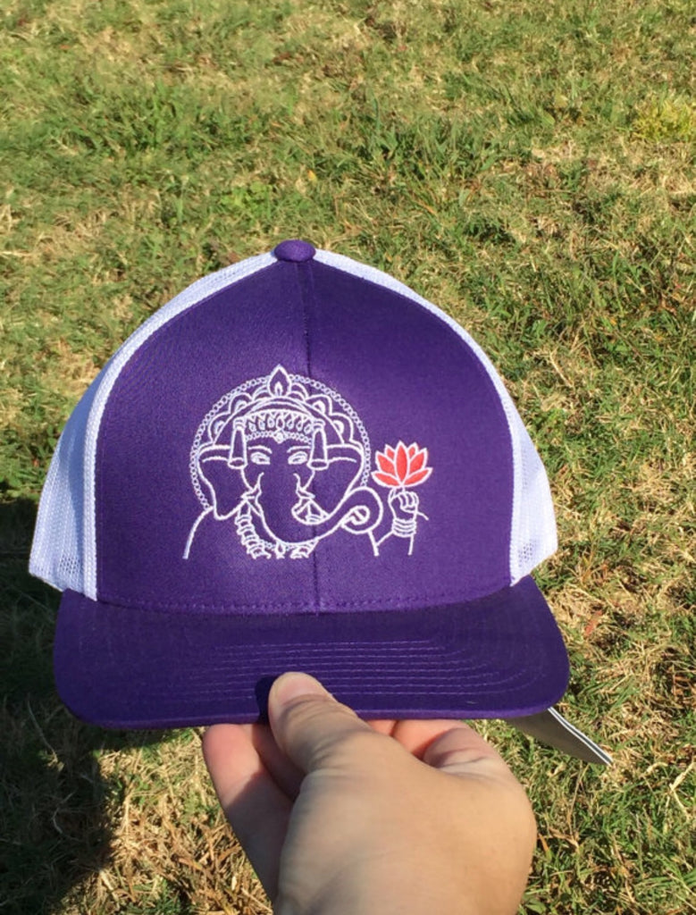 Ganesha Adjustable Snapback in Purple - Inspired by Stephanie Rose