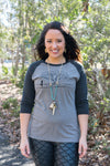 Tree Pose Women's Baseball Tee - Inspired by Stephanie Rose