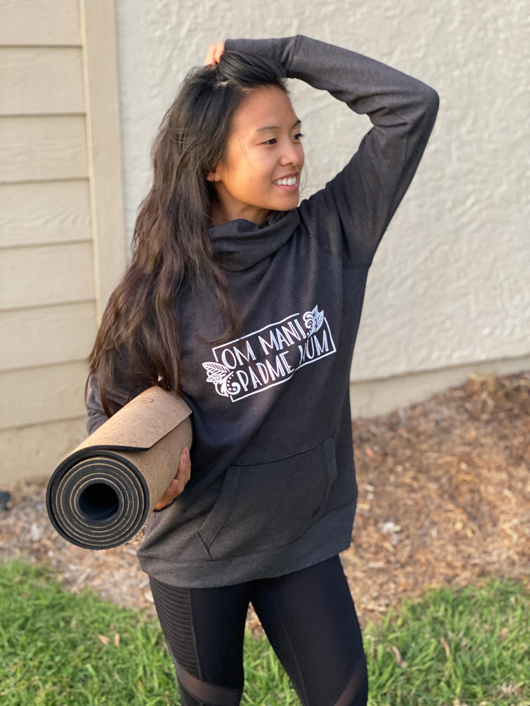 Om Mani Padme Hum Yoga Mantra Sweatshirt - Inspired by Stephanie Rose
