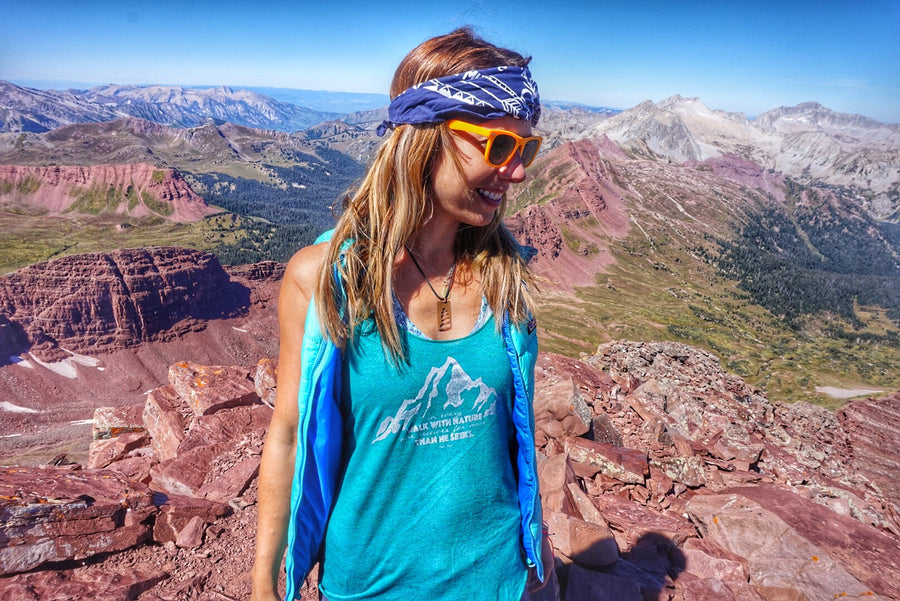 John Muir Women's Hiking Tank Top - Inspired by Stephanie Rose
