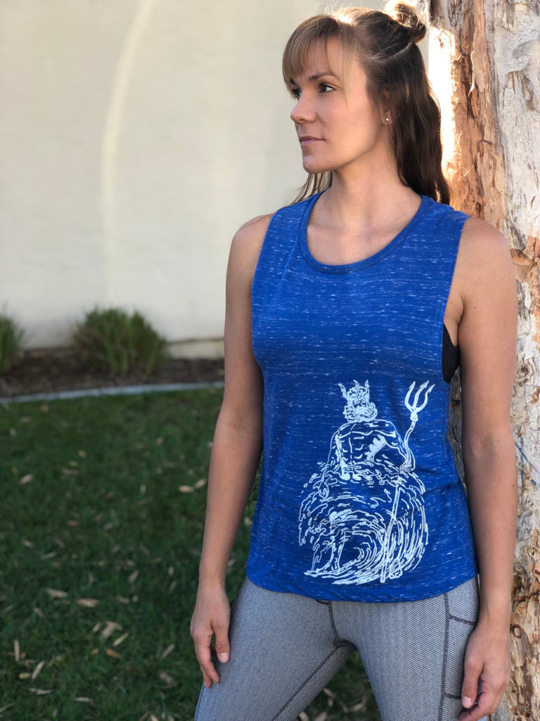 Poseidon Women's Muscle Tank - Inspired by Stephanie Rose