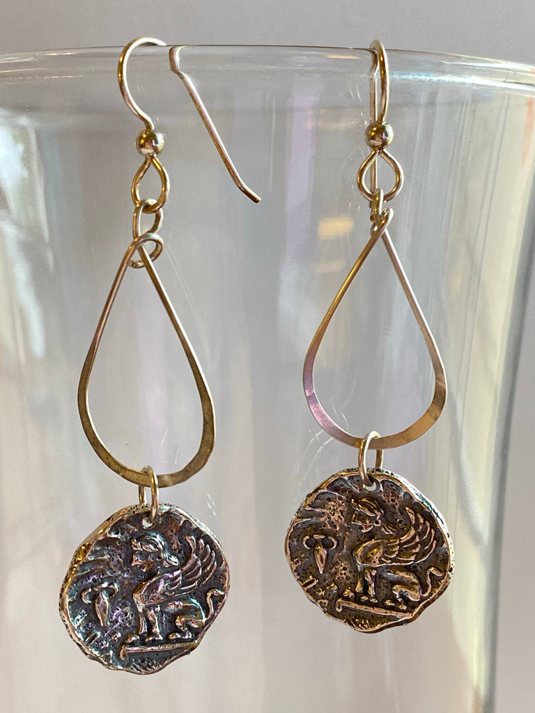 Mythological Griffin Earrings - Inspired by Stephanie Rose