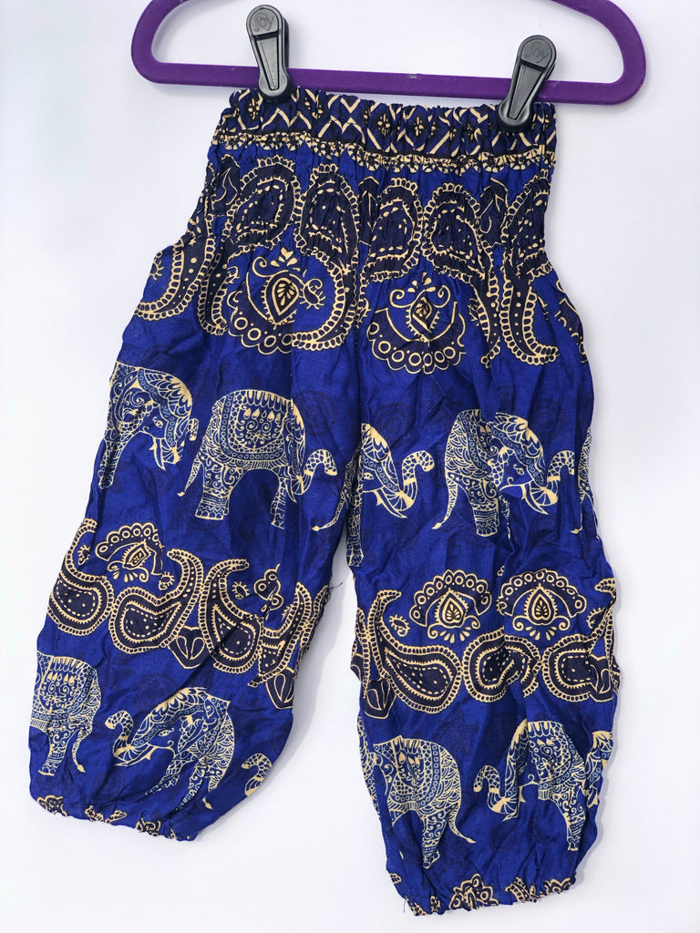 Royal Blue Baby Elephant Pants - Inspired by Stephanie Rose