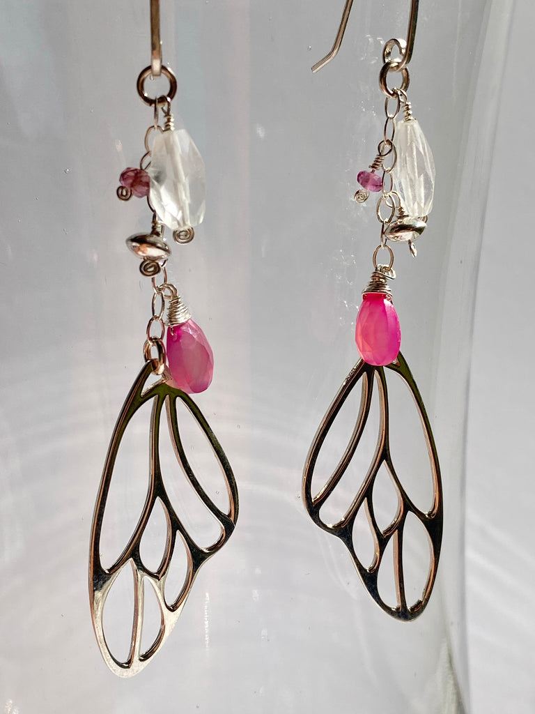 Butterfly Wing Earrings - Inspired by Stephanie Rose