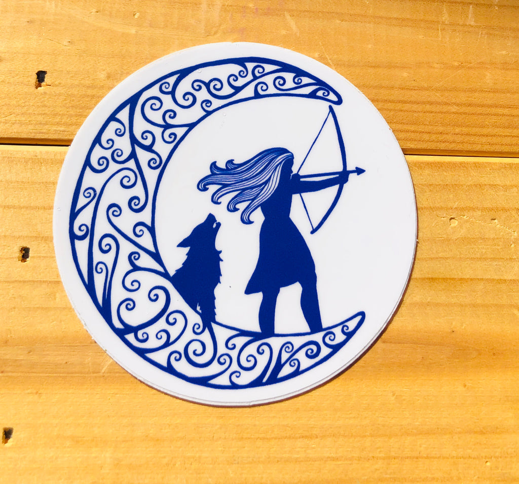Artemis Sticker - Inspired by Stephanie Rose