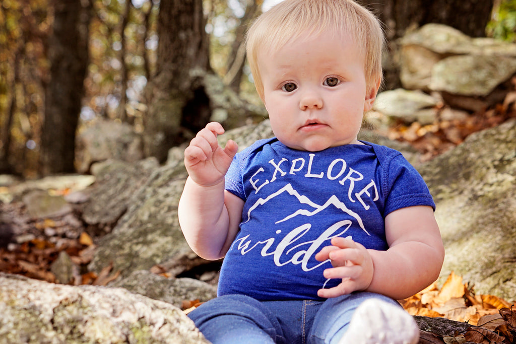 Explore Wildly Kids Shirt - Inspired by Stephanie Rose